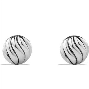 'Sculpted Cable' Stud Earrings